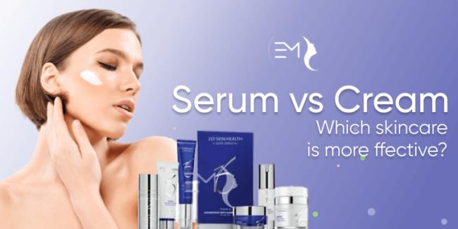 Serum vs cream: which skincare is more effective?