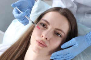 How long does it take to see results from mesotherapy with hyaluronic acid?